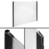 DIY Window Door Awning Cover Transparent 100 x 200cm
