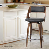 set-of-2-pu-leather-bar-stool-with-chrome-footrest-black