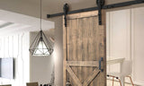 Antique Classic Sliding Barn Single Door Track Kit