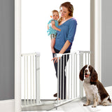 76cm Tall Baby/Pet Safety Gate Door Barrier Adjustable Width
