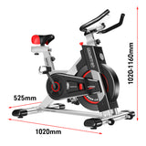 Powertrain-Heavy-Flywheel-Exercise-Spin-Bike-IS500---Silver-KLK-bke-d20-sl-afterpay-zippay-oxipay