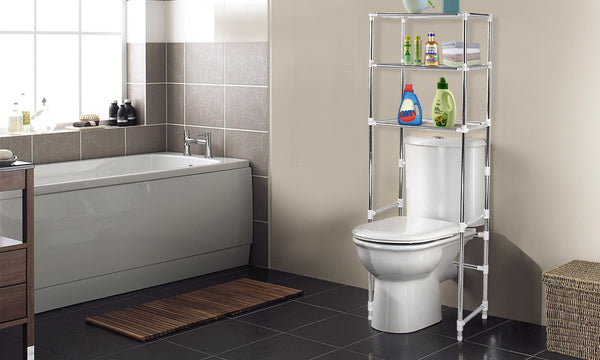 3 Tier Over Toilet Bathroom Storage Rack