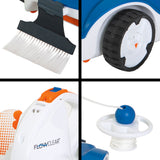 Bestway Robotic Pool Cleaner Swimming Pool Cleaner Flat Filter For Fine Dust