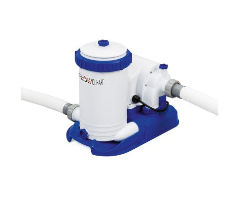Flowclear 9 436l h water flow rate with filter car - This gas helps keep swimming pools clean ...