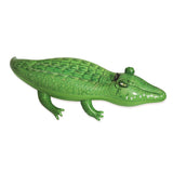 Inflatable Pool Float Crocodile Rider 168cm Pool Toy Play Pool