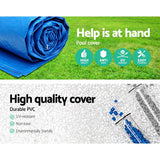 4.57m Swimming Pool Cover For Above Ground Pools LeafStop