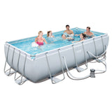 Bestway Power Steel Rectangular Frame Pool 100CM