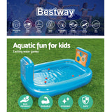Inflatable Kids Pool Skill Shot Swimming Paddling Pool Ball Pit Game Toy