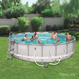 Round Frame Power Steel Above Ground Swimming Pool