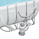 Power Steel Rectangular Frame Pool