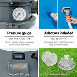 530GPH FlowClear Sand Filter Swimming Above Ground Pool Cleaning Pump