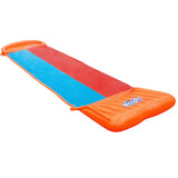 Inflatable Water Slip And Slide Double 5.49m Kids Splash Toy Outdoor