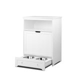 Pet Feeding Station White