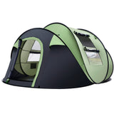 Instant Up 4-5 Person Camping Tent Family Hiking Beach Tents Swag
