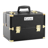 Make Up Cosmetic Beauty Case – Black & Gold