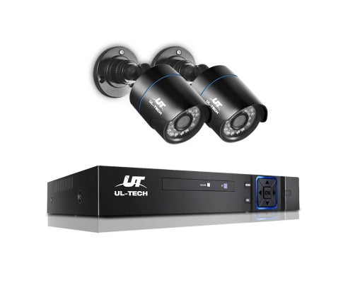 1080P 4-channel CCTV Security Camera