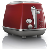 Delonghi Icona Capitals 2 Slice Toaster Tokyo Red CTOC2003R