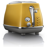 Delonghi Icona Capitals 2 Slice Toaster New York Yellow CTOC2003Y