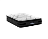 Giselle Bedding 36CM King Mattress 7 Zone Euro Top Pocket Spring Medium Firm Foam