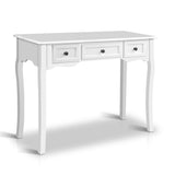 Timber Hall Console Side Table White