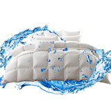 700GSM Duck Down Feather Duvet Quilt All Season - Super King