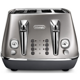 Delonghi Distinta Flair 4 Slice Toaster CTI4003S