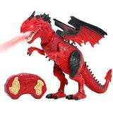 Dinosaur Planet Walking & Fire Breathing Dragon - Red