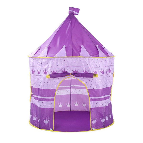 Dream Castle Princess Purple Play Tent