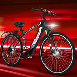 "27""-Electric-Bike-eBike-e-Bike-Mountain-Bicycle-City-Battery-Motorized-Black-EBIKE-MOUNT-27IN-BK-RE-afterpay-zip-laybuy-openpay"