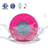 Mini Waterproof Wireless Bluetooth Speaker (Pink)