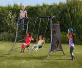 Eris Metal Kids Swing Set