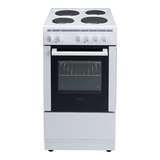 Euro Appliances 50cm Freestanding Electric Oven/Stove EV500EWH