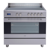 Euro Appliances 90cm Freestanding Electric Oven/Stove EV900EESX