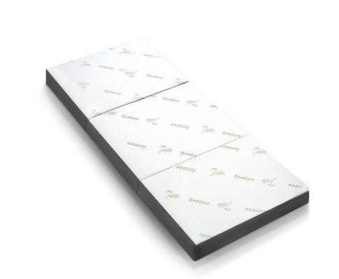 Folding Foam Portable Mattress Bamboo Fabric