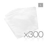 300 Food Sealer Bags: 28 x 40cm