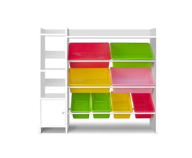 8 Bin Toy Storage Shelf