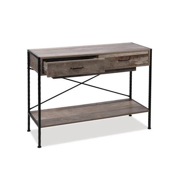 Wooden Hallway Console Table - Wood