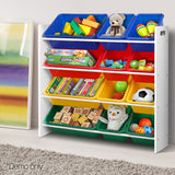 12-Bin-Toy-Organiser-Storage-Rack-FURNI-G-TOY110-WH-afterpay-zippay-oxipay