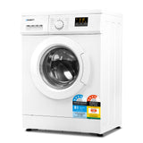 8kg Front Load Washing Machine Quick Wash 24h Delay Start Automatic