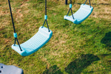 Premium Metal Double Swing & Glider with Mist