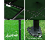 INSTAHUT 3X6 Pop Up Gazebo – Green