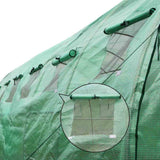 Galvanised Steel Green House 6M x 3M x 2M