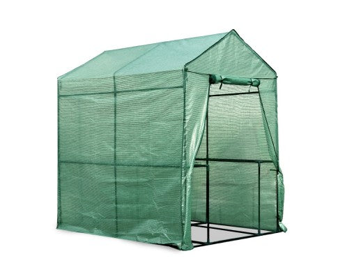 1.9 x 1.2M Walk-in All Weather Green House