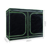 Waterproof Grow Tent - Black and Green