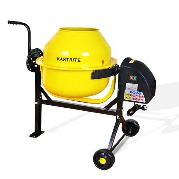 Kartrite Cement Concrete Mixer 63L Sand Gravel Portable 220W