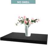 3PCS Wall Floating Shelf Set Bookshelf Shop Display BLACK