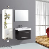 2 in 1 Mirror Storage Cabinet White