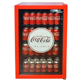 Husky 118L Coca-Cola Bar Fridge CKK110-168-AU-HU
