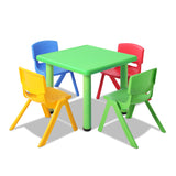 Table and Chairs Set Study Desk Children Furniture Plastic