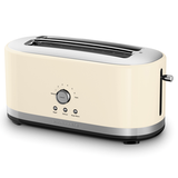 KitchenAid 4 Slice Long Slot Toaster Almond Cream 5KMT4116AAC